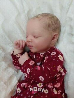 Reborn Baby Girl Realborn Johannah Bountiful Baby Lifelike Realistic Doll