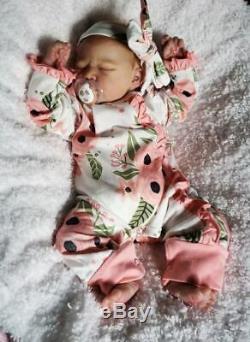 Reborn Baby Girl Realborn Summer Rain Bountiful Baby Lifelike Realistic Doll