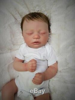 Reborn Baby Girl Skya Asleep Bountiful Baby Realborn Lifelike Newborn Doll