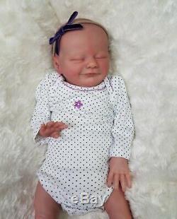 Reborn Baby Girl Uriel by Priscilla Lopes Ltd Edition Preemie Small Newborn Doll
