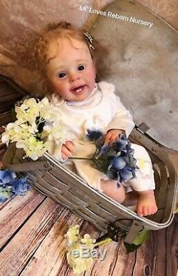 Reborn Baby Girl YANNIK by NATALIE BLICK TODDLER LE ART DOLL WithCOA