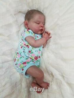 Reborn Baby Girl Zoey by Cassie Brace Limited Edition Realistic Lifelike Doll