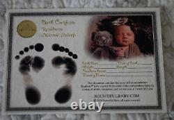 Reborn Baby Realborn Marnie Sleeping Full Front Plate included