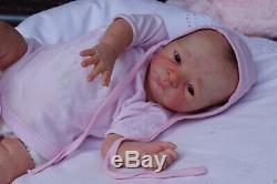 Reborn Baby, Reborndoll, reallife baby, newborn baby, doll kit Miliaine