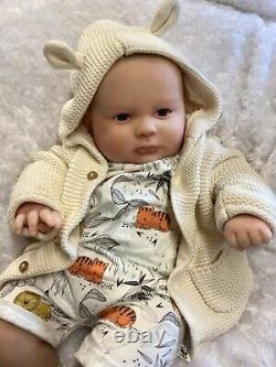 Reborn Baby Stunning Boy From Joseph 3 Months Realborn 3d Scan Of Real Baby
