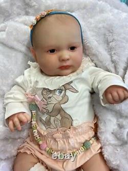 Reborn Baby Stunning Girl From Joseph 3 Months Realborn 3d Scan Of Real Baby
