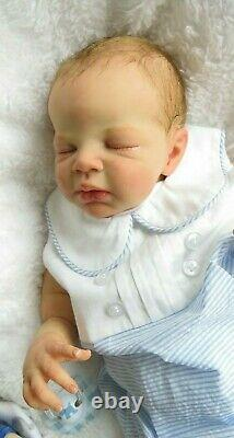 Reborn Baby boy doll Zendric kit Sculpted by Dawn McLeod COA Limited Edition