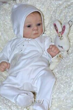 Reborn Baby doll Felicia created from the limited set Felicia by GUDRUN LEGLER