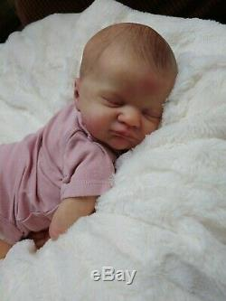 Reborn Big Baby Girl EVIE Laura Lee Eagles LLE Limited Edition Lifelike Doll