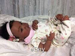 Reborn Biracial Sheliah-Baby Doll Therapy for People with Alzheimer & Caregiver