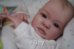 Reborn CUSTOM MADE SHYANN ooak lifelike Baby vinyl art ARTIST doll PETERSON