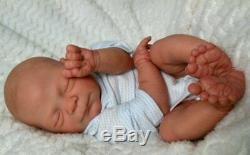 Reborn Collectable Baby doll art Newborn Edley Elisa Marx Fake baby