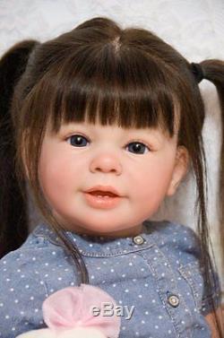 Reborn Doll Baby Girl Toddler Katie Marie By Ann Timmerman