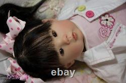 Reborn Doll Custom Order Kana by Ping Lau Small Toddler Asian Baby Girl