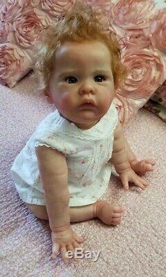 Reborn Doll Lili Marlaine by Sylvia Manning