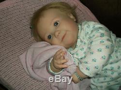Reborn Doll Realborn June Awake 7 Months, 9 Lbs. 4 Oz