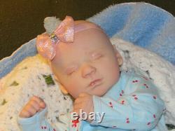 Reborn Doll Realborn Marnie Sleeping, 18, 4 Lbs