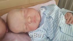 Reborn Levi Sculpt by Bonnie Brown Cassie Brace Resell Baby Doll