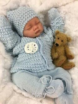 Reborn Lifelike Boy In Spanish Knitted Set Full Limbs 017 Butterfly Baby