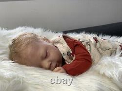 Reborn Luciano Sold Out Limited Edition by Cassie Brace doll