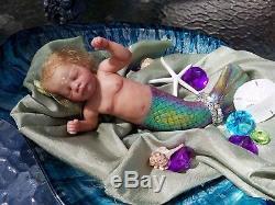 Reborn Mermaid Baby Doll LTD of 250 by Shawna Clymer! Fantasy Reborn Doll