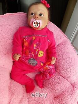 Reborn PROTOTYPE 23 Baby Toddler Girl Doll INKA by INA VOLPRICH Reborn Deluxe