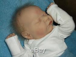 Reborn Preemie Doll Romilly by Cassie Brace, 18 3 Lbs. 7 Oz