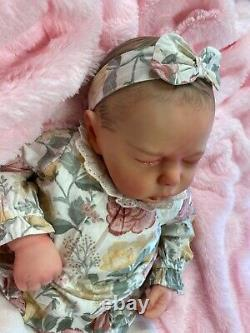 Reborn Realborn Baby Girl Dustin Sculpt Made From 3d Scan Of A Real Baby