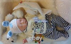 Reborn Reallife Baby Boy von U. L Krautter Babypuppe Puppe Geschenk