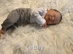 Reborn Romilly Baby Boy Realistic Reborn Doll Lifelike By Cassie Brace