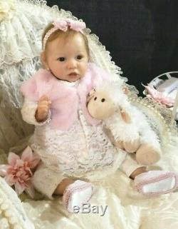 Reborn Saskia by Bonnie Brown CUSTOM ORDER BABY DOLL Biracial Caucasian AA