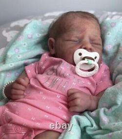 Reborn Silicone Aroha Prototype Gorgeous Realistic Newborn Baby Daniela Ardelean