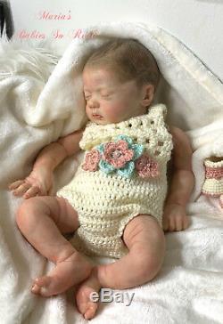 Reborn Sophia Grace Baby Girl Doll Sculpt By Natalie Scholl