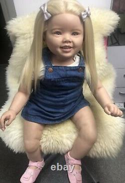 Reborn Toddler Doll Baby Girl Cammi by Ping Lau