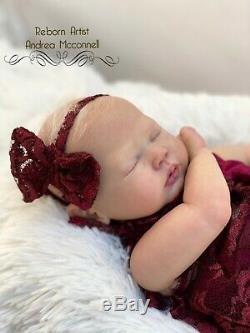 Reborn Zori By Dawn McLeod Baby Girl Ghsp Painted Original Quality Art Doll