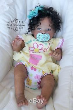 Reborn Art Baby Doll Raven By Ping Lau Reborn Baby Doll