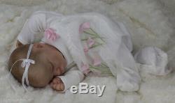 Reborn baby / Art doll from Realborn Lavender Asleep sculpt