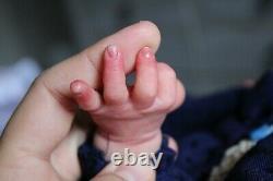 Reborn baby Mia by Irina Kaplanskaya reborn by Sweet Sparkle Nursery