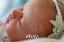 Reborn baby Realborn Marnie Sleeping (prompt delivery)