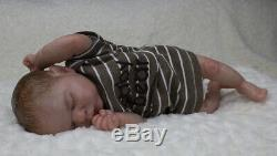 Reborn baby/art doll from the LE Romilly sculpt by Cassie Brace