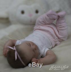Reborn baby / art doll from the Realborn Johannah Sleeping sculpt