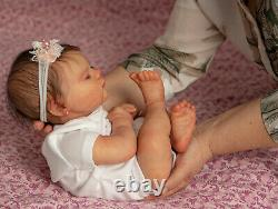 Reborn baby doll Jade Sleeping by Bountiful baby (Prompt delivery)