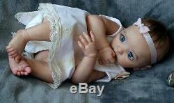 Reborn baby doll Layla(Andrea Arcello)Nataliya Konovalova