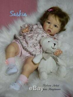 Reborn baby doll Saskia by Bonnie Brown