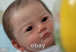 Reborn baby doll Tony by Gudrun Legler (Pronta entrega)