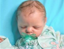 Reborn baby doll Xander, realistic artist Olga Konovnina, cute babies