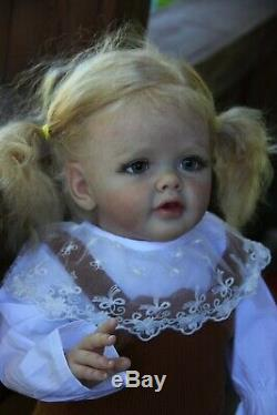Reborn baby doll toddler Betty by Natali Blick