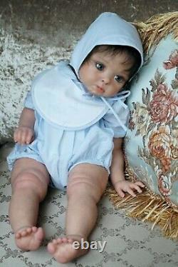 Reborn baby doll toddler Princess Adelaide(Andrea Arcello)Nataliya Konovalova