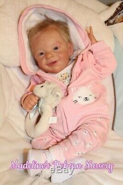 Reborn baby dolls, Reborn Sunny by Joanna Kazmierczak