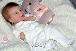 Reborn baby dolls Sunny made Limited sold out kit Sunny by Joanna Kazmierczak